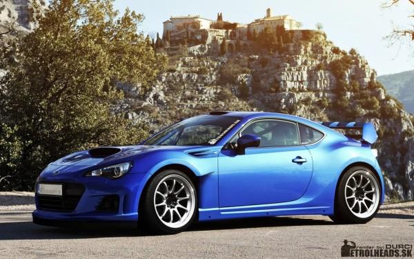 Subaru BRZ WRC