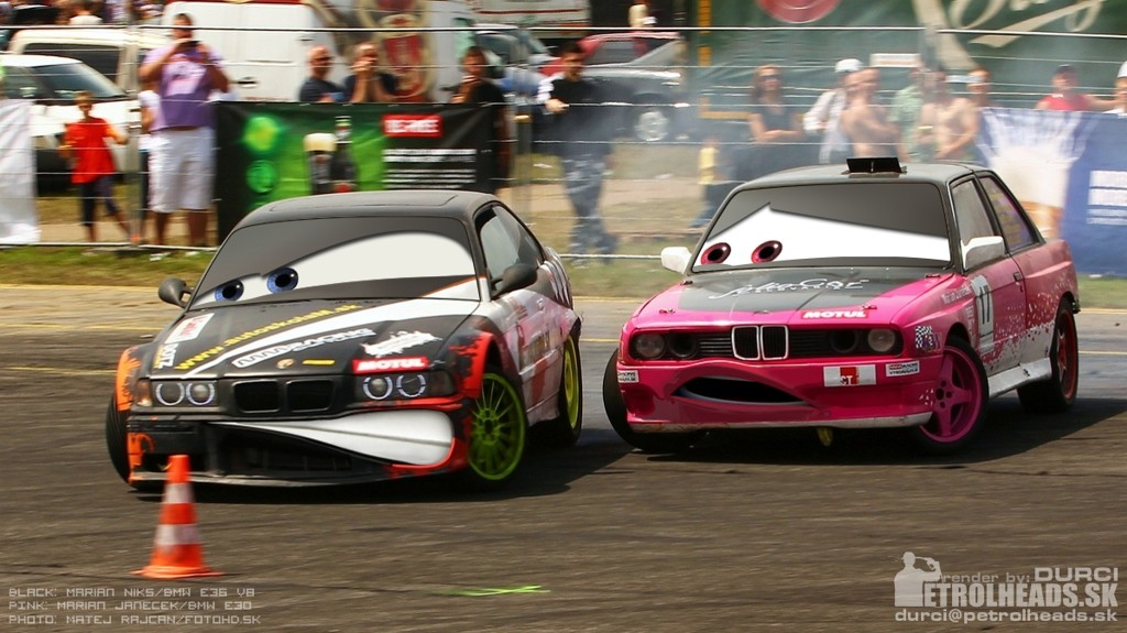 Durci Design Drift Battle Pixar