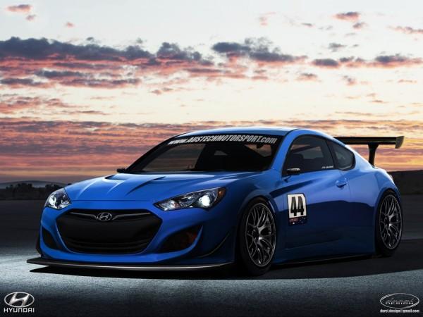 Hyundai Genesis GT3 concept