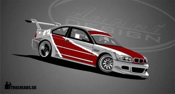 BMW E46 GTR driftcar