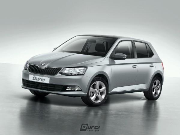 Škoda Fabia III – social version