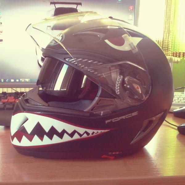 Warhawk – Helmet design