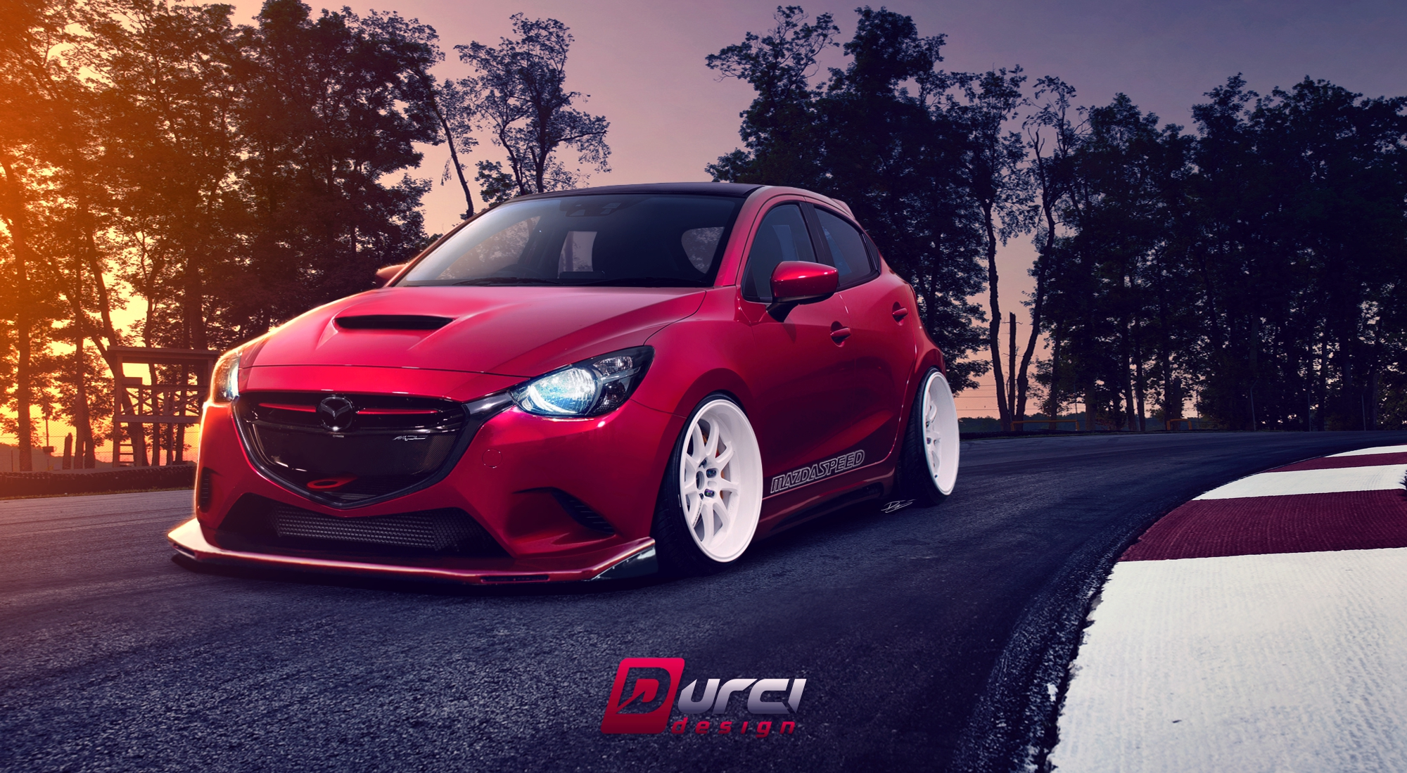 Toyota Tundra Build >> DURCI design | Mazda 2 Mazdaspeed