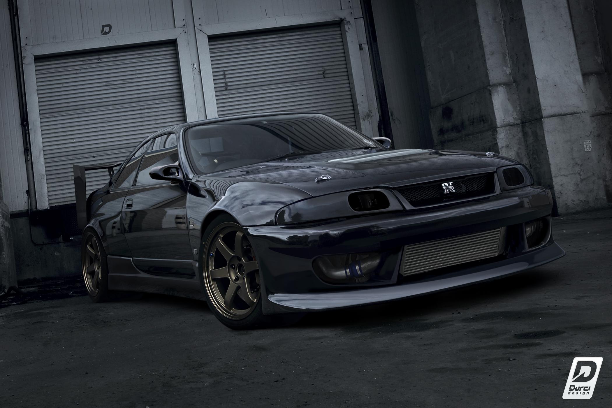 Durci Design Nissan Skyline R33 Drift Spec
